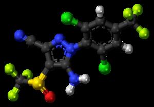 Fipronil - Image: Fipronil 3D balls