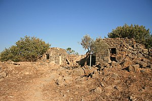 Fiq, Syria - Ruins at Fiq