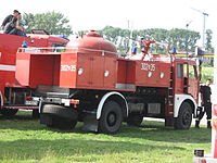 Fire engines during the VII Aircraft Picnic in Kraków (9).jpg