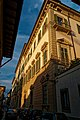 Firenze - Florence - Via Gino Cappini - View NE on Palazzo di Gino Cappini 1702 by Carlo Fontana.jpg