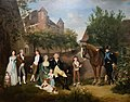 Firmin Massot, Ludwig von Büren und seine Familie, 1796.jpg