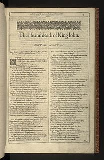 Shakespearean history plays by William Shakespeare about English kings