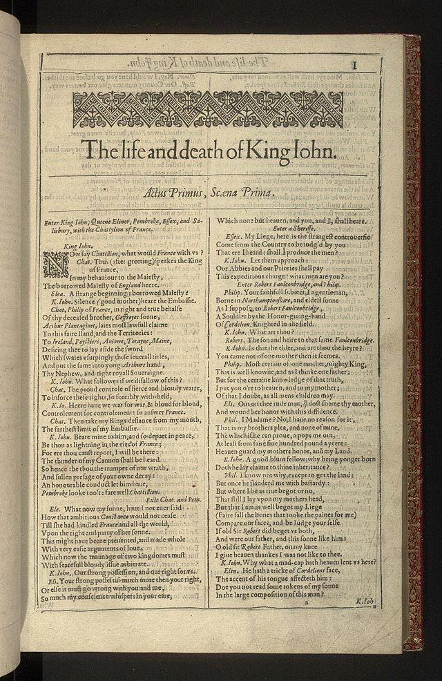 Shakespearean History Wikiwand