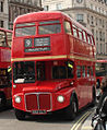 First London Routemaster bus RM1562 (562 CLT) route 9 Trafalgar Square Oct 2007.jpg