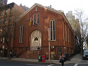 Moravian Church in North America - First Moravian Church, New York City.