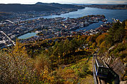 Fløybanen - Funicular