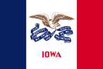 Flag of Iowa (March 12, 1921)