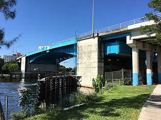 Flagler Street - Image: Flagler St Bridge from North River Drive Miami, Florida (2016)