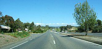 Flagstaff Hill, South Australia - Flagstaff Road Runs as a Reversible lane.