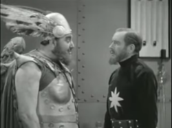 Flash Gordon serial (1936) Vultan and Dr. Zarkov 1.png