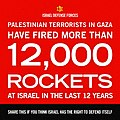 Flickr - Israel Defense Forces - Infographics, More Than 12,00 Rockets were Fired at Israel in the last 12 years.jpg