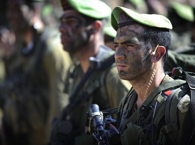 """لواء ناحال الاسرائيلي ..........חטיבת הנח""""ל 800px-Flickr_-_Israel_Defense_Forces_-_Officers_from_the_Nahal_Infantry_Brigade"""