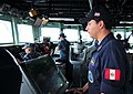 Flickr - Official U.S. Navy Imagery - A Peruvian naval officer aboard USS Underwood..jpg