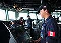 Flickr - Official U.S. Navy Imagery - A Peruvian naval officer aboard USS Underwood..jpg