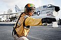 Flight Deck Officer on the USS Midway (8727189322).jpg