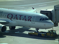 A7-AHU - A320 - Qatar Airways