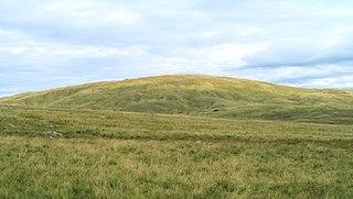 Foel Fraith mountain in United Kingdom