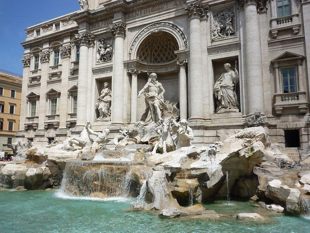 > Fontaine de Trévi : Splendeur baroque à Rome – Photo de Fczarnowski
