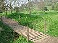 Footbridge in Woodland Manor Golf Course - geograph.org.uk - 1256330.jpg