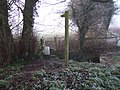 Footpath near Agnesmeadow Bridge - geograph.org.uk - 296746.jpg