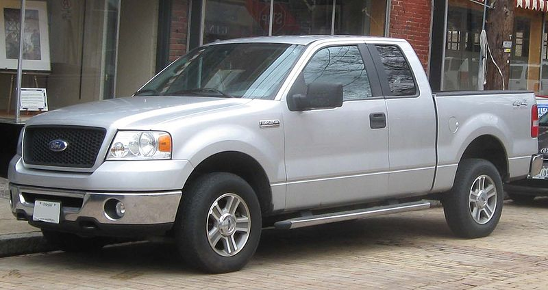File Ford F 150 Extended Cab 03 03 2010 Jpg Wikipedia