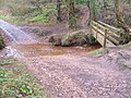 Ford and footbridge near Stowford - geograph.org.uk - 144447.jpg