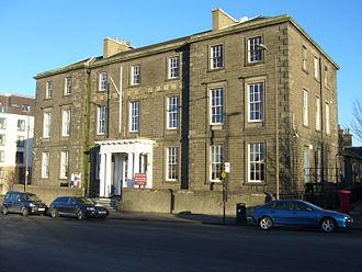 Granton, Edinburgh - Former HMS Claverhouse, Granton Square