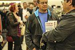 Former Secretary of Defense Gates visits Miramar for book signing 160201-M-HJ625-005.jpg