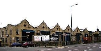 Thornbury, West Yorkshire - Former Thornbury tramsheds now demolished
