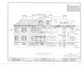 Fort Neck (House), Massapequa, Nassau County, NY HABS NY,30-MASAP,1- (sheet 4 of 18).png