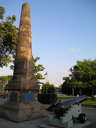 Fort Rouillé - Image: Fort Rouille Monument CNE Grounds, Toronto (September 1 2005)