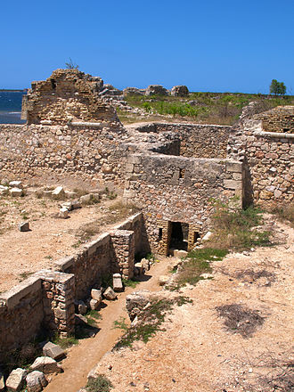 Fort-Liberté - The fort at the edge of the city overlooking the bay