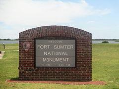 Fort Sumter National Monument sign IMG 4524.JPG