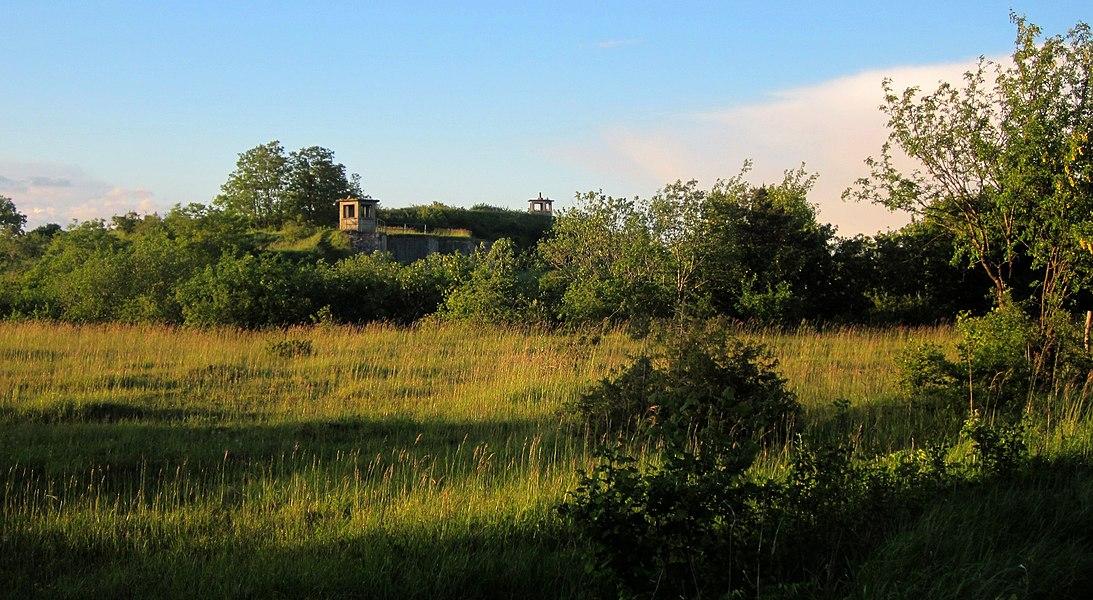 Fort de Domgermain, dép. Meurthe-et-Moselle, France.