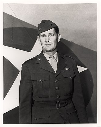 Joe Foss - Foss during World War II.
