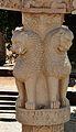Four Lions - West Pillar Top - Rear Side - South Gateway - Stupa 1 - Sanchi Hill 2013-02-21 4389 4389.JPG