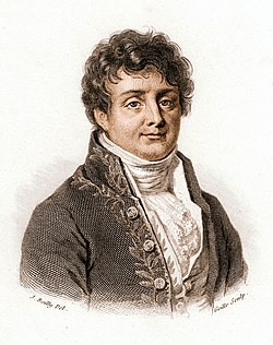 Joseph Fourier (1768-1830). His Greenhouse Effect theory wasn't controversial in his day, but mentioning his theory is a great way to generate political rage in the United States in 2016.