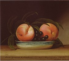 Fox grapes and peaches raphaelle peale.jpg