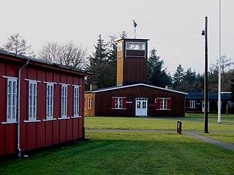 Frøslev Prison Camp - Central guard tower and barracks