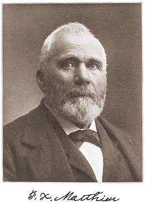 François X. Matthieu - F.X. Matthieu, circa 1900