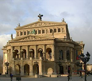 Opernplatz - The Alte Oper seen from Opernplatz