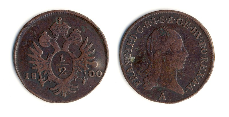 File:Francis II, Holy Roman Emperor 12 kreutzer 1800 20mm.jpg