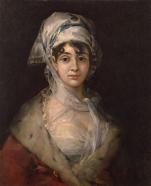 Portrait of Doña Antonia Zárate (1810-1811) - Image: Francisco Goya Portrait of the Actress Antonia Zarate