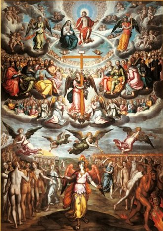 "Francisco Pacheco - Francisco Pacheco, Lo Judici Final (""The Last Judgment""), Musée Goya, Castres, France."