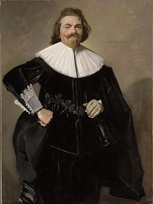 Tieleman Roosterman - Portrait of Tieleman Roosterman by Frans Hals, The Cleveland Museum of Art