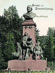 Franz Abt-Denkmal von 1891 (Quelle: Wikimedia)
