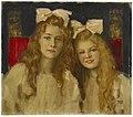 Franz von Stuck Portrait zweier junger Damen c1900.jpg