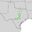 Fraxinus texensis range map 3.png