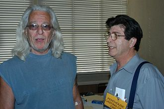 Fred J. Lincoln - Lincoln, left, with Henri Pachard in 2004