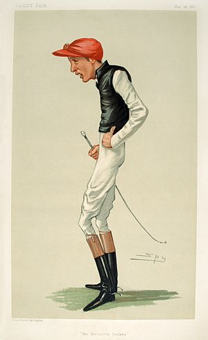 Fred Archer (jockey) - Fred Archer caricature in Vanity Fair